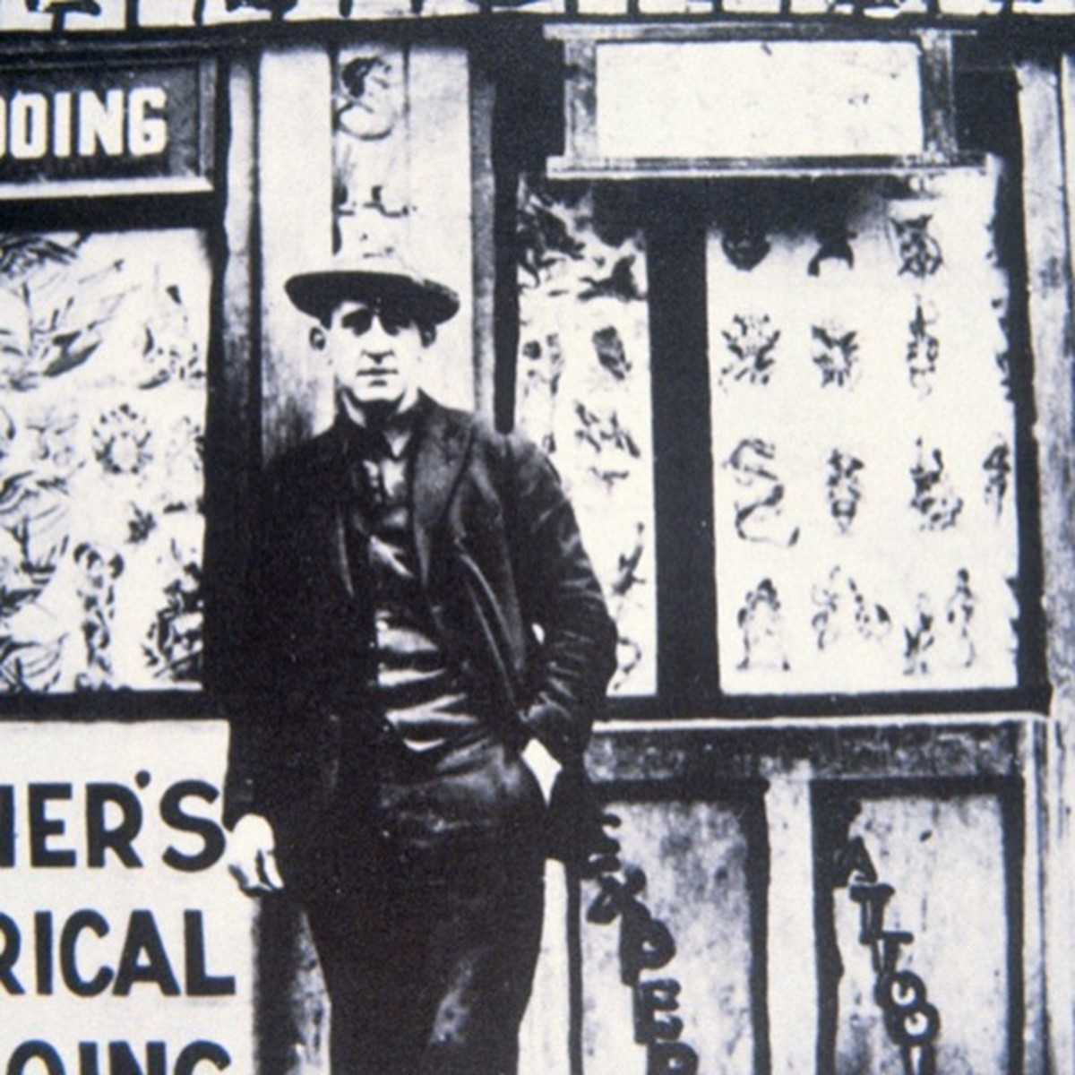Lew the Jew Outside Charles Wagners' Shop
