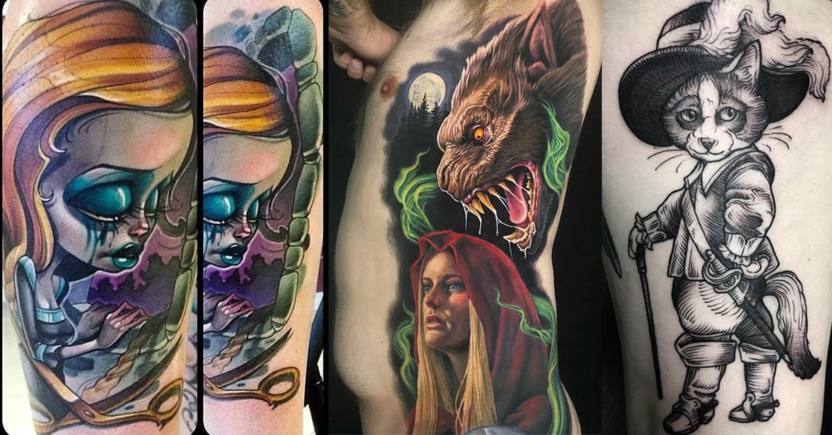 Once Upon A Time There Were 15 Magical Tattoos Tattoo