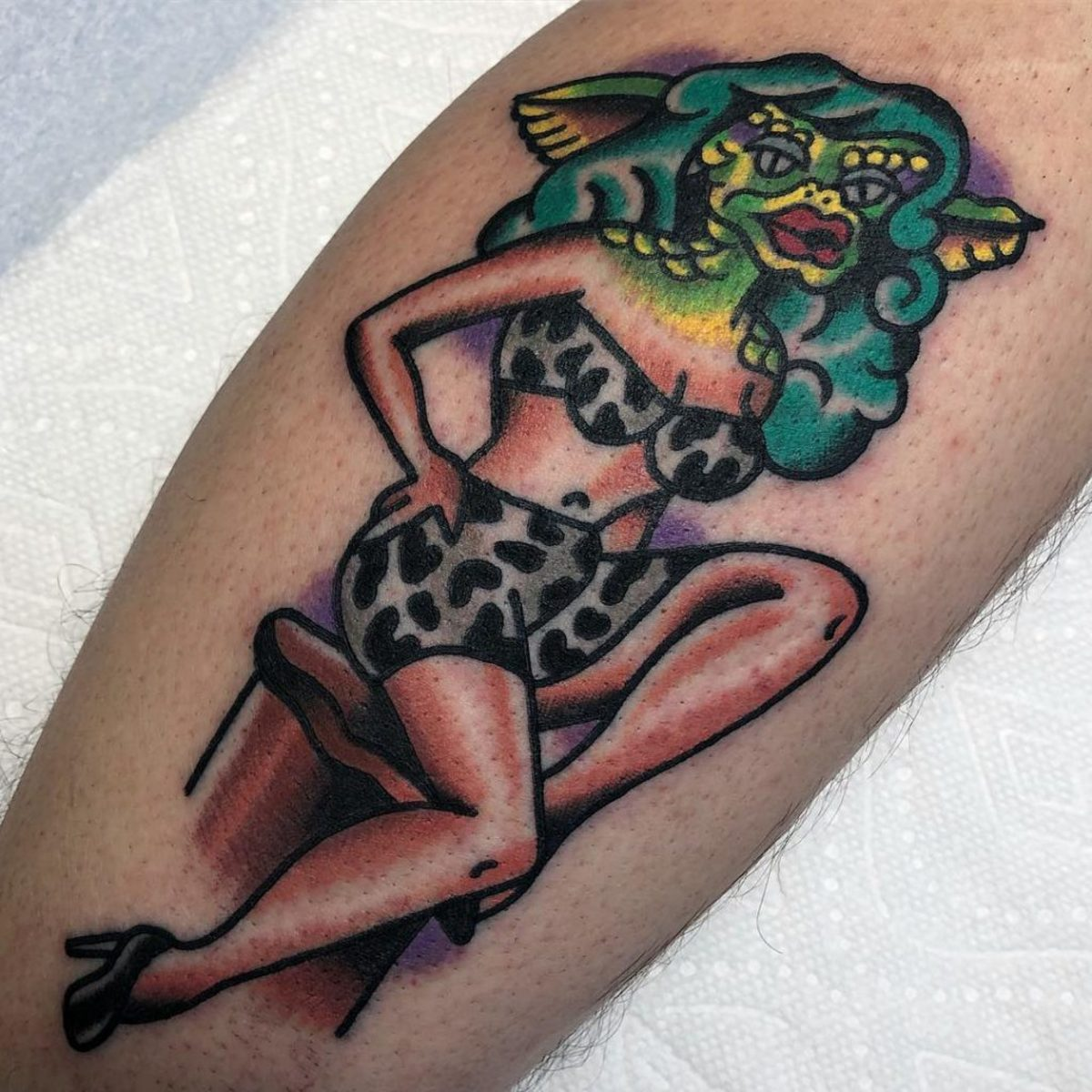Tattoo by @skull_and_snake