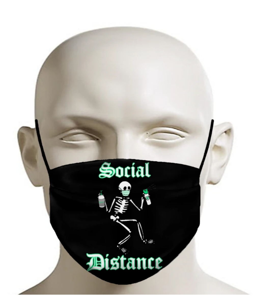 Social Distancing is the story of my life. Available at Inked Shop.